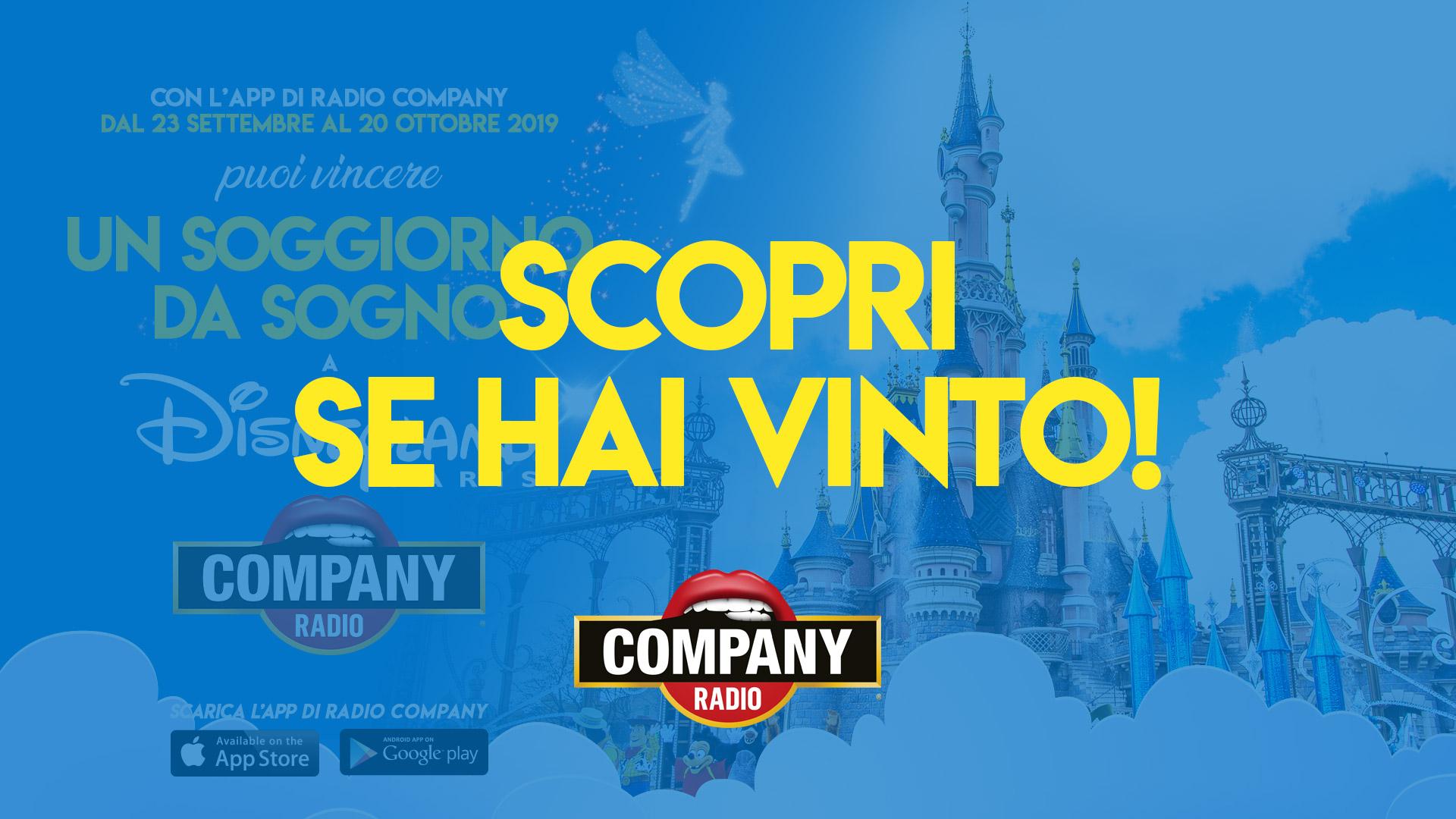 Vinci un soggiorno a Disneyland Paris - Radio Company